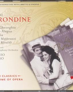 Giacomo Puccini: La Rondine - 2 CD (+ bonus CD szövegkönyv)