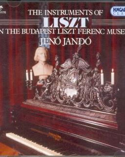 Liszt Múzeum hangszerein játszik Jandó Jenő