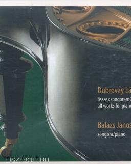 Dubrovay László: Zongoraművek