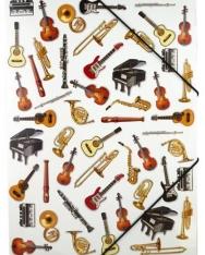 Mappa - gumis, hangszeres