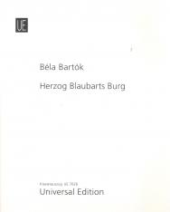 Bartók Béla: Kékszakállú herceg vára - zongorakivonat (német, magyar)