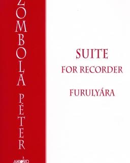Zombola Péter: Suite - furulyára