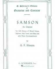 Georg Friedrich Händel: Samson - zongorakivonat