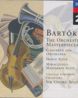 Bartók Béla: Concerto/Tánc-szvit/Román népi táncok/Zene/Divertimento
