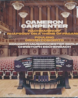 Cameron Carpenter: Rachmaninov Rhapsody on a Theme on Paganini, Poulenc Organ Concerto