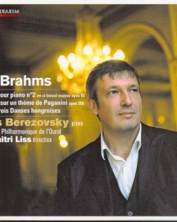 Brahms: Concerto for Piano No. 2., Variations on a Theme by Paganini, Hungarian Dances