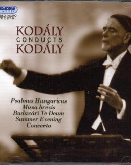 Kodály Zoltán saját műveit vezényli - 2 CD