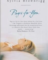 Sylvia Brownrigg: Pages for You