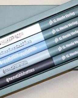 Ceruza szett - 5 zeneszerző (Bach, Mozart, Chopin, Schubert, Schumann)