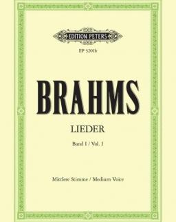 Johannes Brahms: Lieder I. mittlere