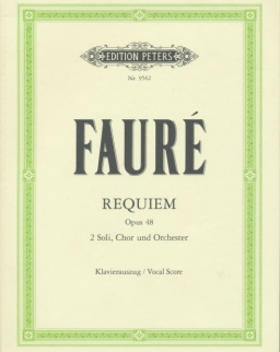 Gabriel Fauré: Requiem - zongorakivonat