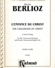 Berlioz: L' Enfance du Christ - zongorakivonat