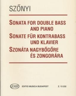 Szőnyi Erzsébet: Szonáta nagybőgőre és zongorára