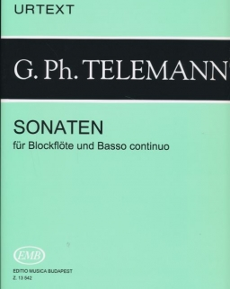 Georg Philipp Telemann: Sonaten furulyára (Urtext)