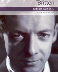 Benjamin Britten: Jubilate Deo in C   (SATB+ orgona)