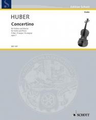 Adolf Huber: Concertino hegedűre, zongorakísérettel