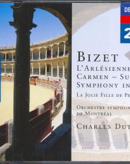 Georges Bizet: L'Arlesienne, Carmen-suites, Symphony in C,Scénes bohémiennes, Patrie, Overture 2 CD