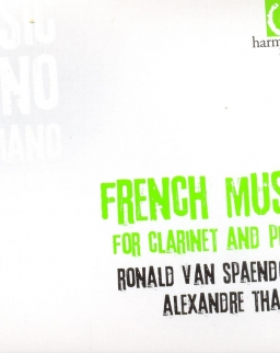 French music for Clarinet and Piano (Poulenc, Debussy, Milhaud, Honegger, Francaix, Gaubert, Saint-S