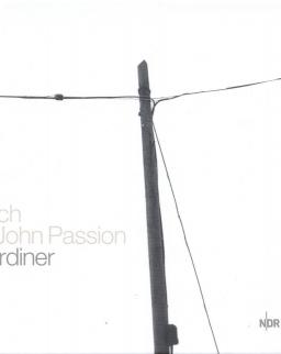 Johann Sebastian Bach: Johannes-Passion  2 CD + szövegkönyv