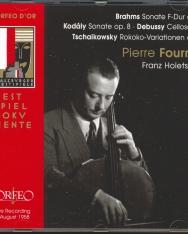 Brahms/Kodály/Debussy: Cellosonaten, Tchaikovsky: Rokoko-Variationen