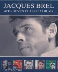 Jacques Brel: Seven Classic Albums - 4 CD