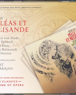 Claude Debussy: Pelléas et Mélisande 4 CD