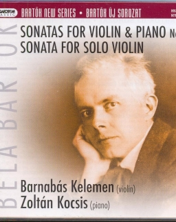 Bartók Béla: Sonata for Solo Violin, Sonatas for Violin and Piano 1,2
