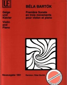 Bartók Béla: Sonata for Violin 1.
