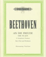 Ludwig van Beethoven: An die Freude (Örömóda, a IX. szimfónia zárótétele) - zongorakivonat
