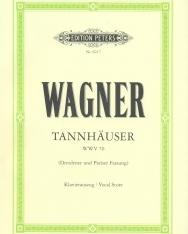 Richard Wagner: Tannhäuser - zongorakivonat (német)
