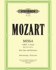 Wolfgang Amadeus Mozart: Missa c-moll - zongorakivonat