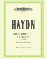 Joseph Haydn: Die Schöpfung - zongorakivonat (angol, német)