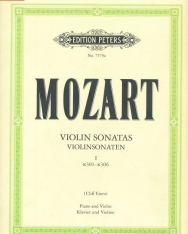 Wolfgang Amadeus Mozart: Violin Sonatas I. (K.301-306)
