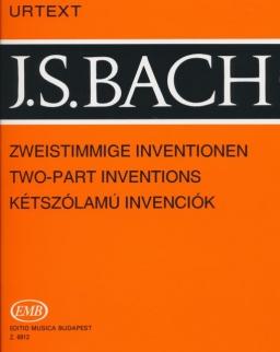 Johann Sebastian Bach: Kétszólamú invenciók