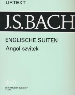 Johann Sebastian Bach: Angol szvitek - English Suites