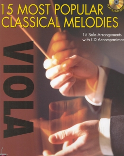 15 Most Popular Classics for Viola (+ CD)
