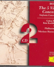 Wolfgang Amadeus Mozart: Complete Violin concertos/Sinfonia Concertante - 2 CD
