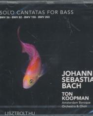 Johann Sebastian Bach: Solo Cantatas for Bass BWV 56,82,158,203