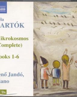 Bartók Béla: Mikrokozmosz I-VI -  2 CD