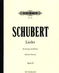 Franz Schubert: Lieder II. mittlere