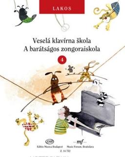 Lakos Ágnes: A barátságos zongoraiskola 4.