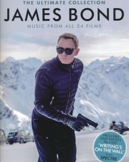 James Bond Ultimate Collection - Music from all 24 films (ének-zongora-gitár)