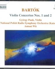 Bartók Béla: Concerto for Violin No. 1,2