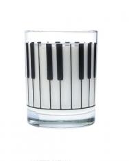 Üvegpohár - klaviatúrás