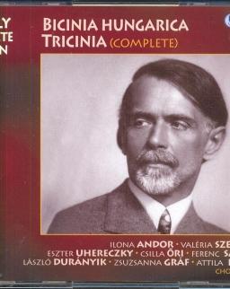 Kodály Zoltán: Bicinia Hungarica, Tricinia - 3 CD
