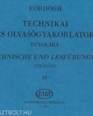Eördögh: Technikai tanulmányok fuvolára 4.