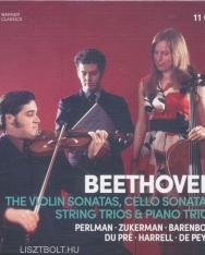 Ludwig van Beethoven: Complete Violin Sonatas, Cello Sonatas, String & Piano Trios - 11 CD