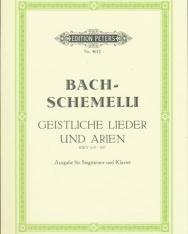 Bach-Schemelli: Geistliche Lieder und Arien (mit bezifferten bass) BWV 439-507