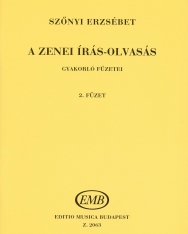 Szőnyi Erzsébet: Zenei írás-olvasás gyakorlófüzete 2.