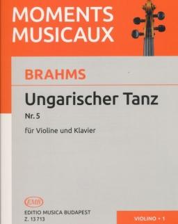 Johannes Brahms: Ungarischer Tanz Nr. 5 - hegedűre, zongorakísérettel